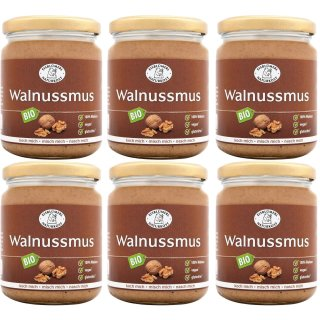 Bio Walnussmus 6x250gr (6er-Pack)